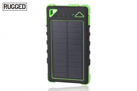 Akumulator przenośna RUGGED SPB-8000 z panelem słonecznym